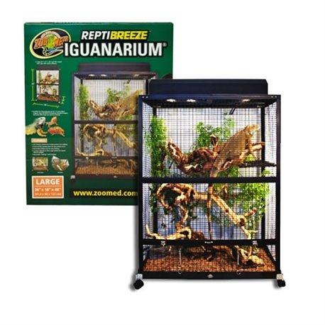 Terrario para Iguanas - Zoomed Iguanarium