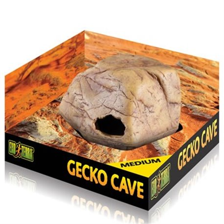 Exoterra Cueva para Geckos Mediana