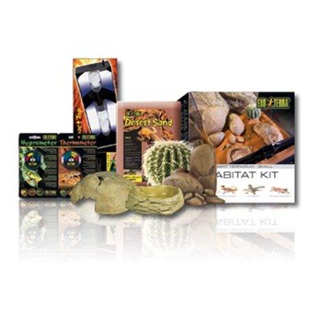 Exo Terra Habitat Kit Desertico 27 Lts 30X30X30 cm PT2650