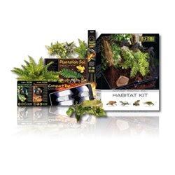 Exo Terra Habitat Kit Tropical 40 Lts 30x30x45 cm PT2660