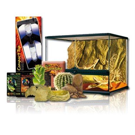 Exo Terra Kit Desertico 120 LTS 60X45X45 cm PT4053