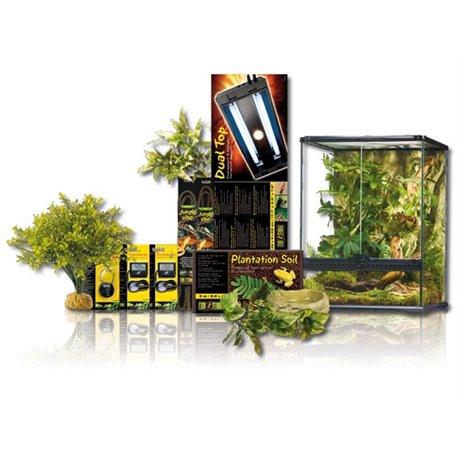 Exo Terra Kit Tropical Dual Delux 120 L 45X45X60 cm PT4070