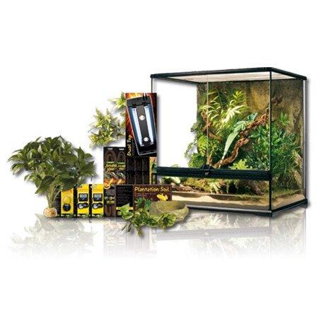 Exo Terra Kit Tropical Dual Delux 160 L 60X45X60 cm PT4072