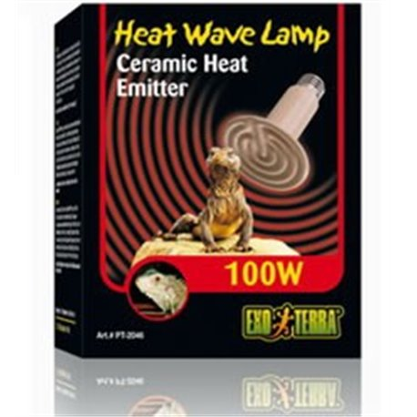 Lámpara de Cerámica Calefactoras 100 W PT2046