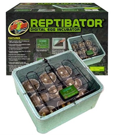 Incubadora Digital Zoomed Reptibator