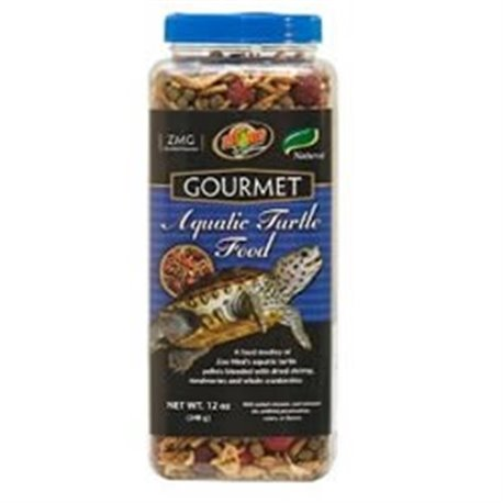 Zoomed Groumet Aquatic Turtle Food 340 Gr