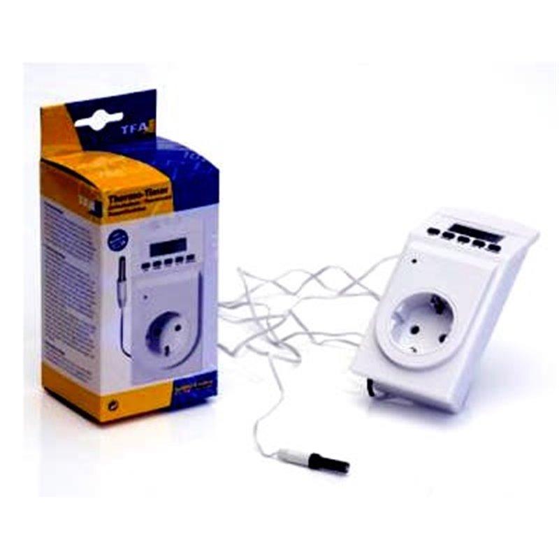 Termostatos digitales para terrarios e incubadoras for Termostato digital calefaccion programable