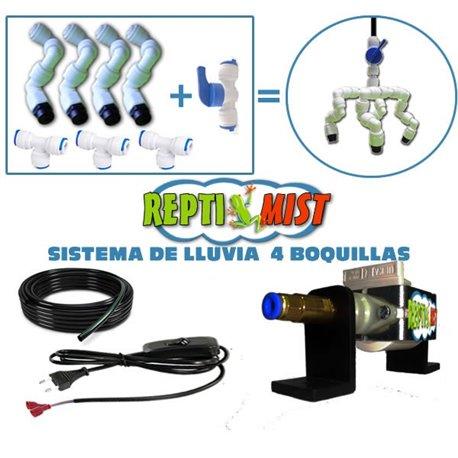 Sistema de LLuvia ReptiMist 4 Boquillas