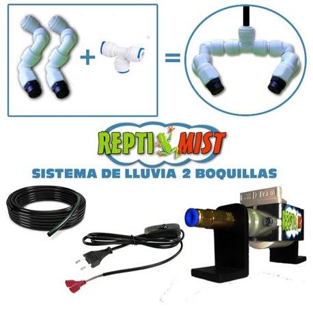 Sistema de LLuvia ReptiMist 2 Boquillas